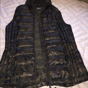 Black & olive Vest